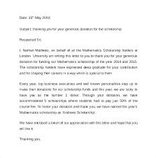 Donation Thank You Letter Templates Donation Thank You Letter Templates Fresh Business Template