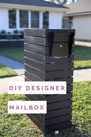 modern mailbox ideas. Wonderful Modern Tie Your Exterior Look Together And Create A Modern Focal Point With  Customized Mailbox In Modern Mailbox Ideas E