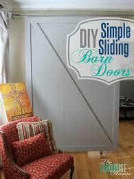 Sliding Barn Doors Diy Barn Doors The Turquoise Home
