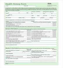 health history forms dental health history form rudycoby net