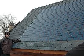 Устройство крыши солнечными батареями