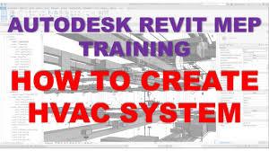 Hvac Design For Dummies Revit Mep 2020 1 Training For Beginners Lesson 15_how To Create Hvac System