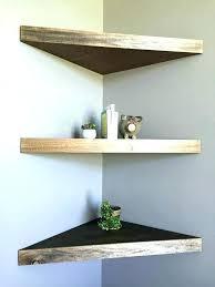 Corner Speaker Shelves Unique Rustic Floating Corner Shelves Rustic Wood Corner Shelf Corner