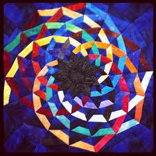 16 best Mandala quilt images on Pinterest | Mandalas, Mandala and ... & Mandala Quilt Photo by purplejentree Adamdwight.com