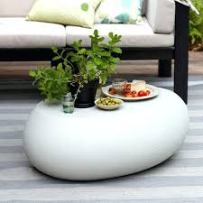 outdoor coffee table stone outdoor coffee table round stone