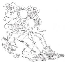 Small Picture Hollywood Studios Goofy Camera man Coloring pages Pinterest