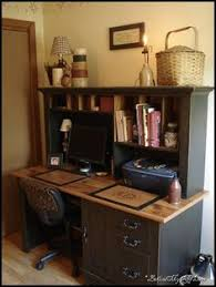 country office decor. Like This Country Office Desk. Great Place For Paying Bills! Decor