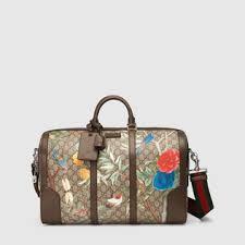 gucci duffle bags for men. gucci tian gg supreme duffle bags for men