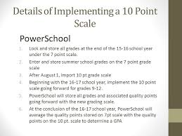 Uniform Grading Policy State Board Of Education April 12
