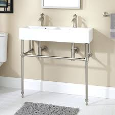 metal console sink stands ideas
