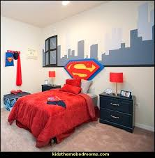 Great Superman Bedroom Decorating Ideas   Superman Decor   Superman Wall Murals    Superman Bedding