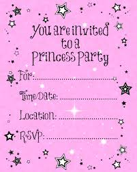 40th birthday ideas online princess birthday invitation disney princess birthday invitation template printable party invitations