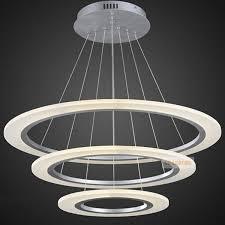 led hanging lights circle ring led modern chandelier light fixture led acrylic hanging lamp led lighting