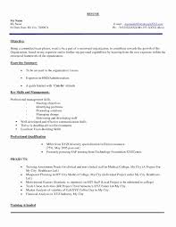 Excellent Resume Format In Word File For Freshers Pictures