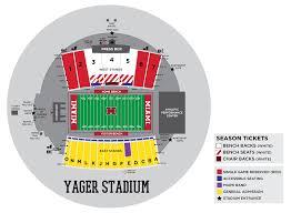 Methodical Akron Football Stadium Seating Chart 2019