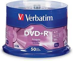 Verbatim DVD+R 4.7GB 16X AZO Recordable Media ... - Amazon.com