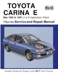 toyota carina e 1992 1997 haynes service and repair Toyota Wire Harness Repair Manual Toyota Wire Harness Repair Manual #43 wire harness repair manual toyota truck 1989