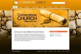 Church Website Templates New Church Web Templates Just Released Three New Church Website