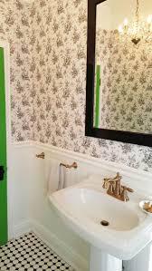 Powder Room Wallpaper 104 Best Powder Room Images On Pinterest Bathroom Ideas Dream
