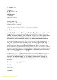 Cover Letter To University 14 Application Letter For Admission At The University