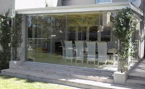 frameless glass folding stacking or sliding doors