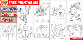 It also increases the iq level of minors and increases their coloring and painting since. 4th Of July Coloring Pages For Kids 123 Kids Fun Apps