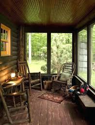 screen porch furniture. Cabin Deck Rustic Porch Furniture Screen Kits Also  Lodge Log Patio Willow Wood Screen Porch Furniture
