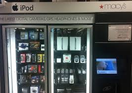 Macy's Ipad Vending Machine