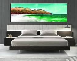 beach canvas art 1 piece large pictures bedroom canvas wall art beach decor ocean green canvas beach canvas art  on beach themed canvas wall art australia with beach canvas art like this item canvas beach wall pictures raition