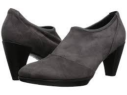 Ecco Shape 55 Plateau Shootie Womens Boots Titanium Black