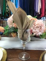 Napkin In Glass Design All About The Napkins Chair Decor