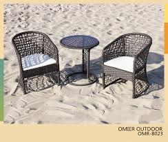 stylish contemporary outdoor bistro set modern outdoor bistro furniture wickerrattan bistro table and