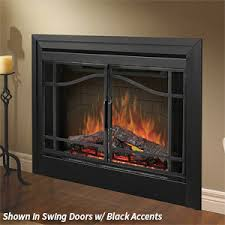 Double Sided Fireplace An Unusual Solution For A Large Rooms Double Sided Electric Fireplace