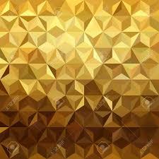 Fancy Background Design Fancy Golden Seamless Pattern In Low Polygon 3d Design Ideal