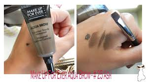 kit make up for ever aqua brow 25 ash
