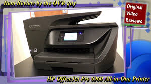 Item Review Hp Officejet Pro 6960 All In One Printer Youtube
