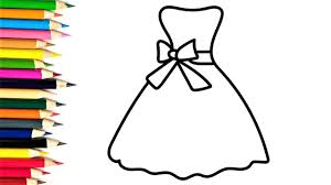 How To Draw Girl Shirts How To Draw Dress Shirt For Girls Drawing And Coloring Book For