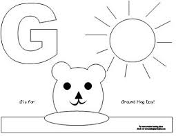 Small Picture Making Learning Fun Groundhog Coloring Pages