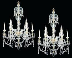 antique glass chandelier a fine pair of six light ormolu mounted cut glass antique chandeliers in antique glass chandelier