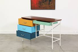 vista of california multi color writing desk