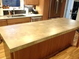 diy concrete countertops cost concrete