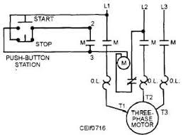motor starter schematic with overloads motor find image about Wiring Motor Overloads 3 phase contactor wiring diagram Electrical Overload
