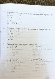 Soal pts ini meliputi 2 pokok bahasan, yaitu bilangan dan himpunan. Kunci Jawaban Latihan 1 1 Matematika Kelas 9 Kurikulim 2013 Nomor 6 7 8 9 10 Brainly Co Id
