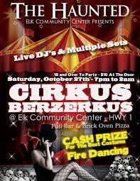 Party Flyer Design For Cirkus Berzerkus Radial Design Group