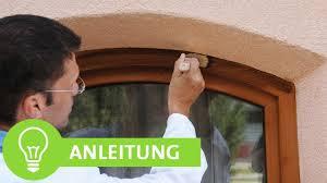 Anleitung Fenster Türen Wintergarten Lackieren Streichen Mit