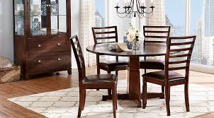 round dining room furniture. Riverdale Cherry 5 Pc Round Dining Room Furniture G