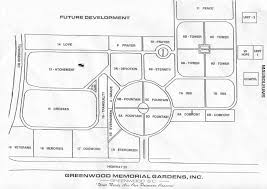 Headstones: Greenwood Memorial Gardens: Section map: Daniel Boatright  Family of Emanuel County