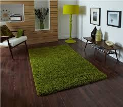 image of ikea green hampen rug