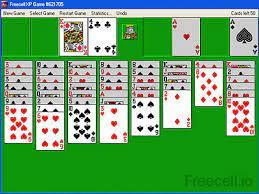 freecell xp play clic card game