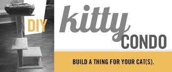 build a diy cat tower kitty tower scratching post cat condo